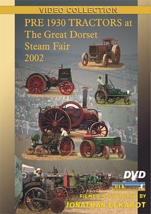 Pre 1930's Tractors at Great Dorset 2002 DVD