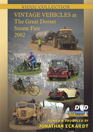 Vintage Vehicles at Great Dorset 2002 DVD