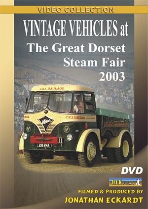 Vintage Vehicles at Great Dorset 2003 DVD