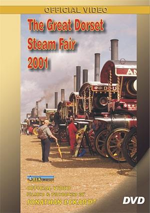 The Great Dorset Steam Fair 2001 DVD