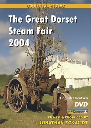 The Great Dorset Steam Fair 2004 DVD