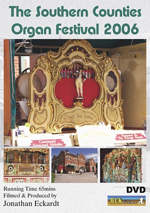 Southern Counties Organ Festival 2006 DVD