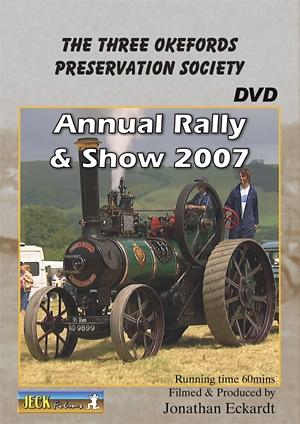 Three Okefords Rally 2007 DVD
