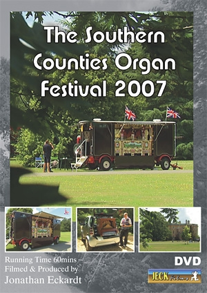 Southern Counties Organ Festival 2007 DVD