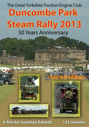 Duncombe Park Steam Rally DVD 2013