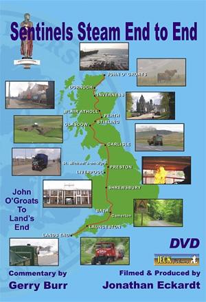 Sentinels Steam End to End Road Run 1999 DVD
