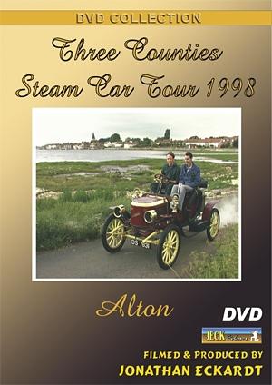 Three Counties Steam Car Tour 1998 DVD